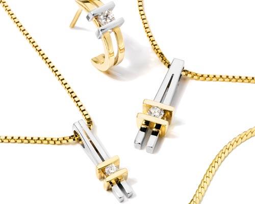 spring collection goud diamant